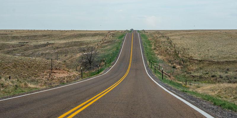 Old Kansas Road Photo by Kent Kanouse.
